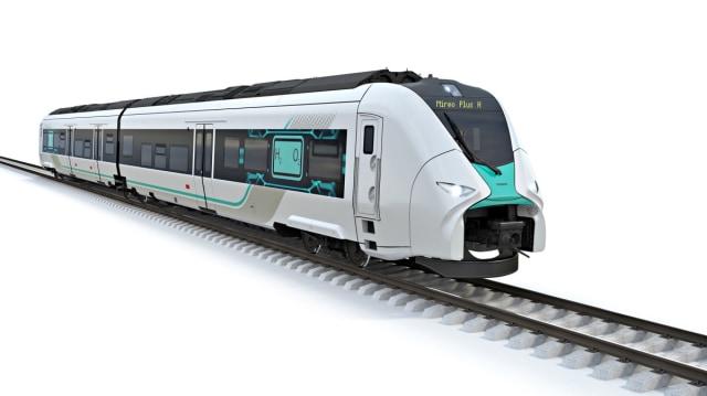 Deutsche Bahn and Siemens Mireo Plus H hydrogen train