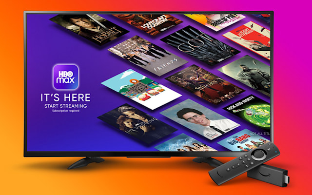 Amazon Fire TV with HBO Max