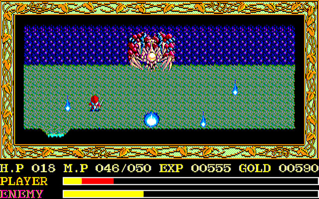 'Ys' port for the Sharp X68000
