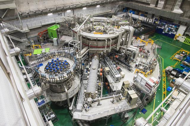 KSTAR superconducting fusion device, aka the 'artificial sun'