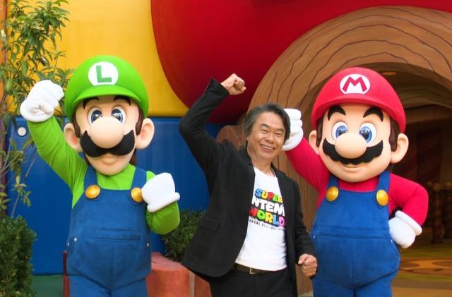 Super Nintendo World tour - Shigeru Miyamoto