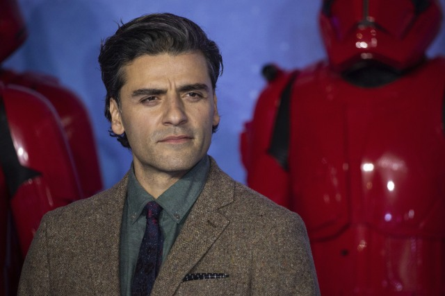 Oscar Isaac poses for photographers upon arrival at the premiere for the film 'Star Wars: The Rise of Skywalker', in central London, Wednesday, Dec. 18, 2019. (Photo by Vianney Le Caer/Invision/AP)