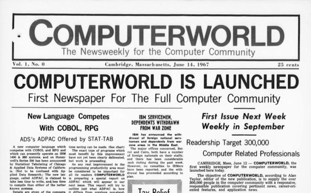 ComputerWorld comes to the Internet Archive