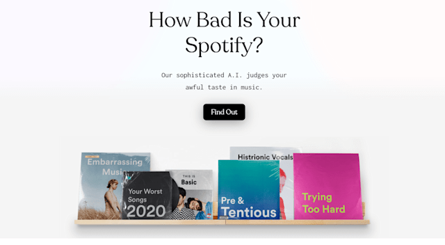 How Bad Is Your Spotify?