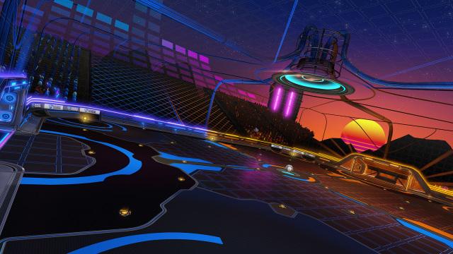 Rocket League Neon Fields Arena 2020