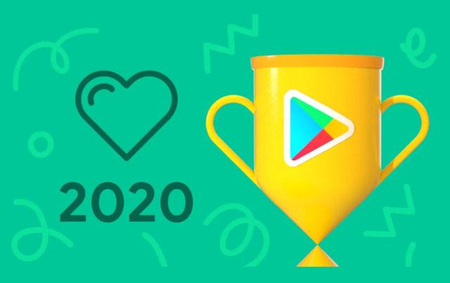 Google Play Store 2020 awards.