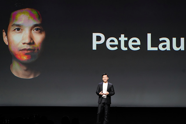 Chief Executive Officer of OnePlus Pete Lau attends a launch event for the new OnePlus 6T in the Manhattan borough of New York, New York, U.S., October 29, 2018. REUTERS/Carlo Allegri