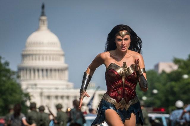 'Wonder Woman 1984' Capitol Building scene in Washington, DC