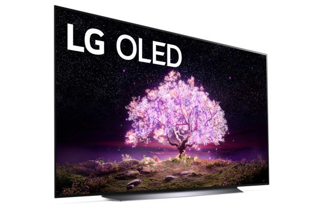Generic image of an LG OLED TV