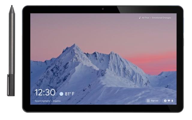 ChromeOS 88 screen saver