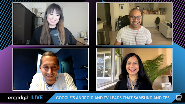 Engadget chats with Google about Android and TV
