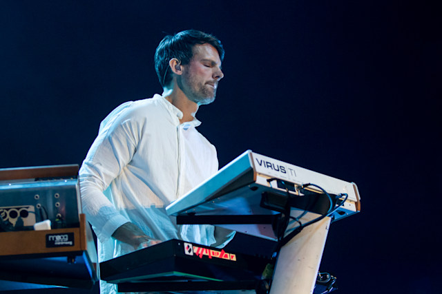 OAKLAND, CALIFORNIA - FEBRUARY 05: Tycho performs at Fox Theater on February 05, 2020 in Oakland, California. (Photo by Miikka Skaffari/FilmMagic)