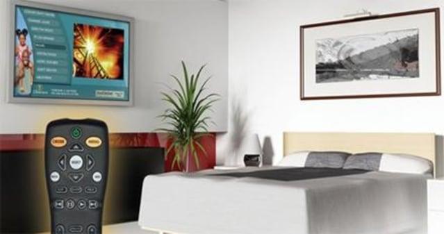 LodgeNet的作用是使模拟酒店中的OTA信号保持活跃