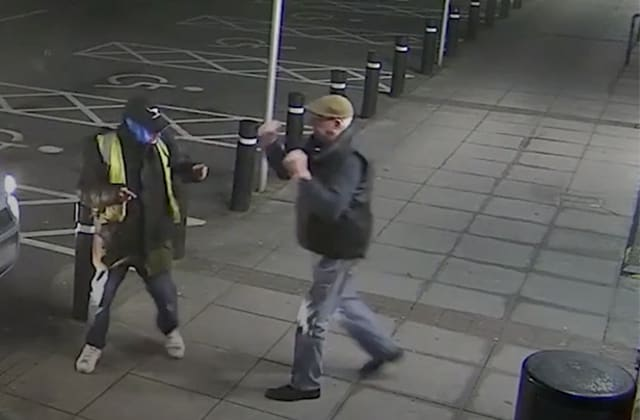 Plucky pensioner fights off robber