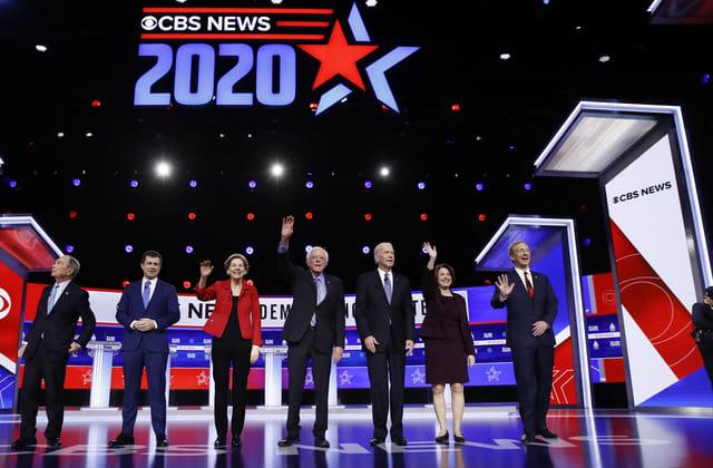 Who won the Democratic debate in South Carolina?