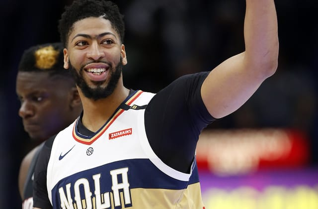 Lakers pull off blockbuster trade for Anthony Davis