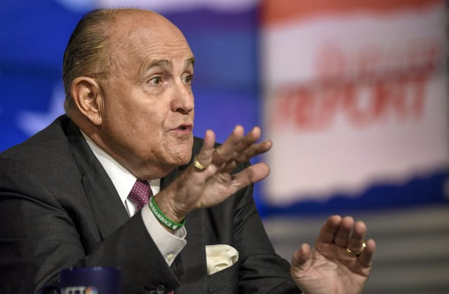 Rudy Giuliani defies subpoena in 'baseless' inquiry
