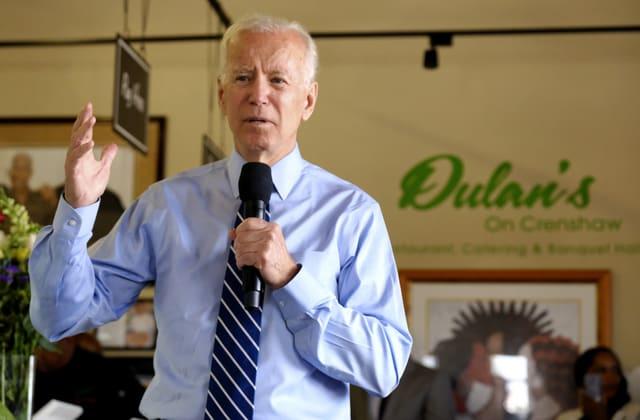 Joe Biden likens Donald Trump to infamous racist