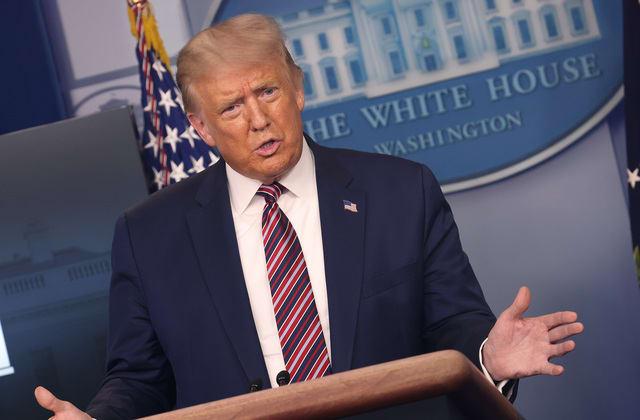 Trump reveals why he is holding up coronavirus aid