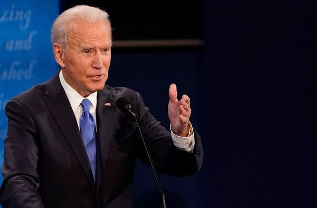 Biden questions Trump's credibility on pandemic