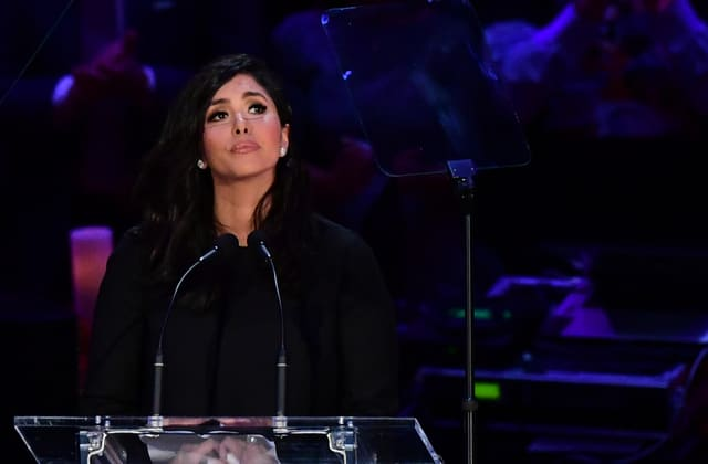 Vanessa Bryant delivers touching speech at memorial