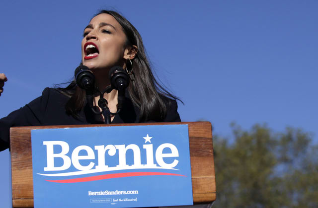 AOC calls Bernie Sanders inspiration for her career