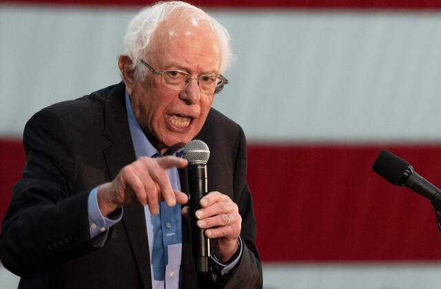 Unusual GOP effort aims to boost Bernie Sanders