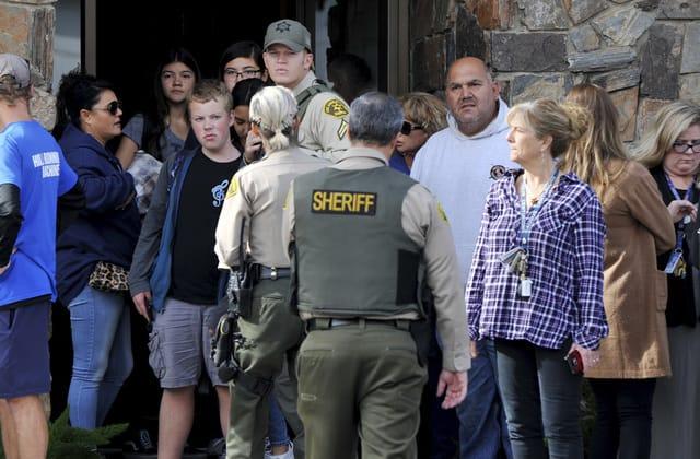 Suspected gunman in California school shooting dies