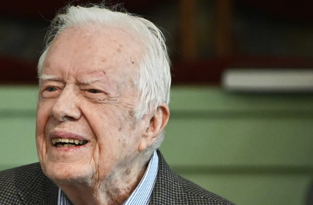 Jimmy Carter hospitalized for bleeding on brain