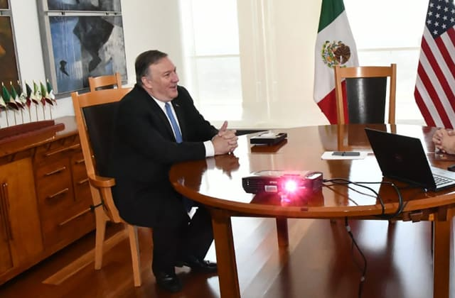 Mexico breathes sigh of relief after visit from Pompeo