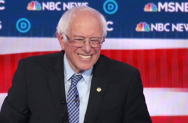 Poll: Sanders solidified as frontrunner