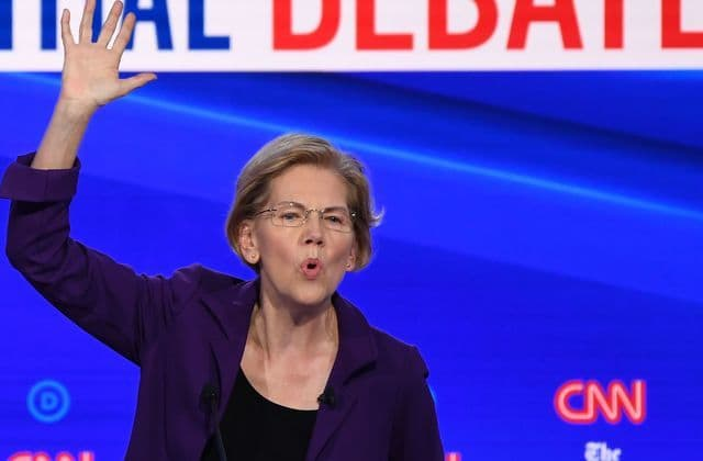 The 1 thing Sen. Warren doesn't have a plan for?