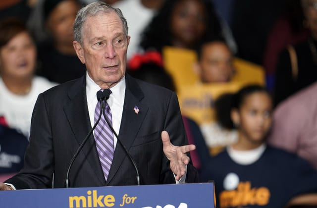 Democrats accuse Bloomberg of trying to 'buy' election