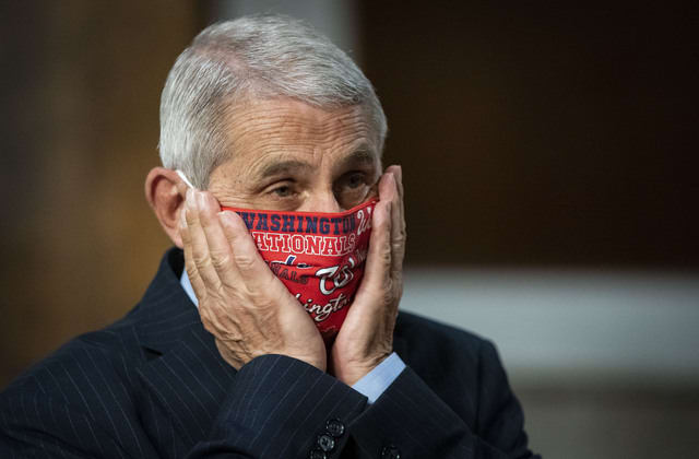 Fauci says the U.S. is going in the wrong direction over virus