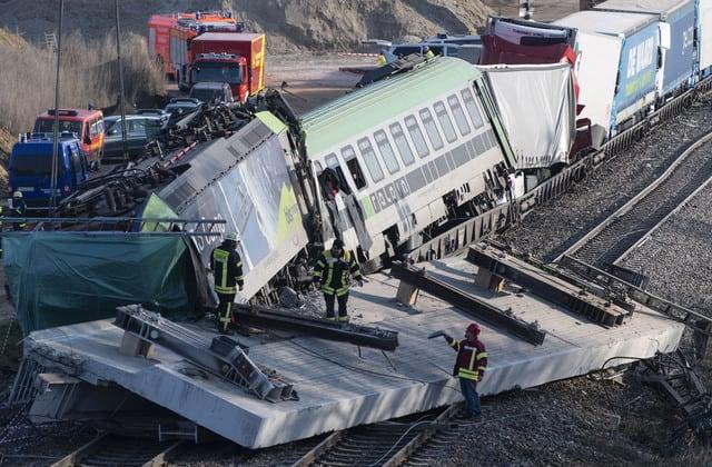 Lokführer stirbt bei Unfall mit Güterzug