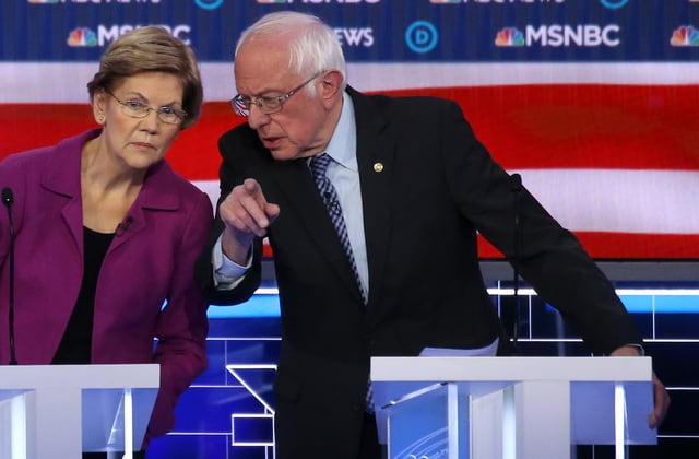 'Her strategy failed her': Too little too late for Warren?