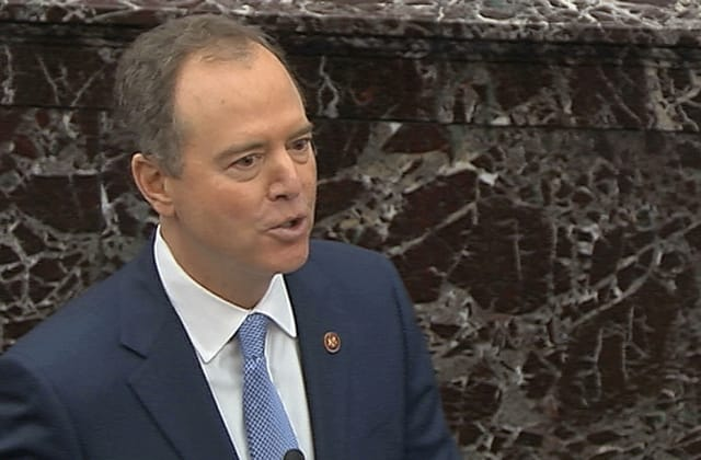 Schiff lobbies chief justice to rule on executive privilege