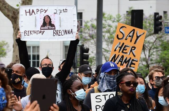 Activists call for justice on Breonna Taylor's 27th birthday