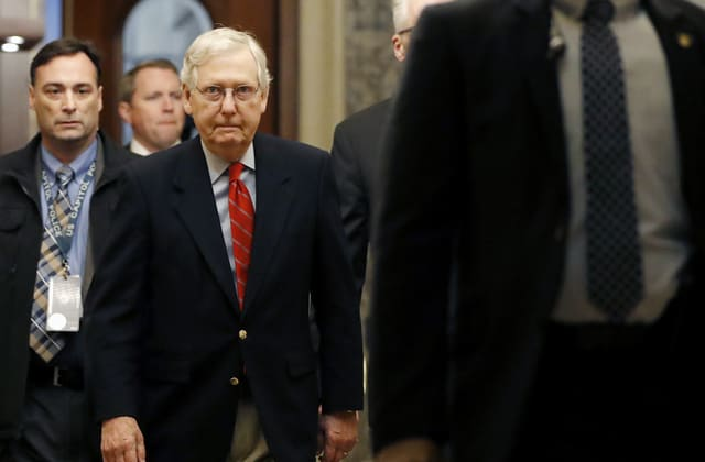 McConnell says he can't yet block new witnesses: Source