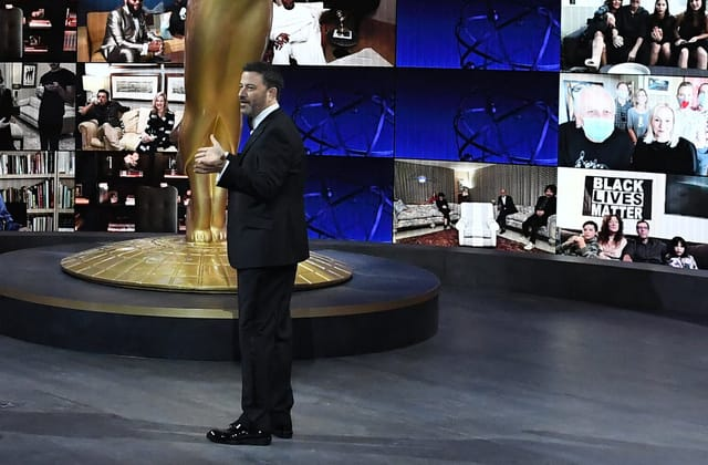 Kimmel delivers powerful Emmys monologue: 'This isn't a MAGA rally'
