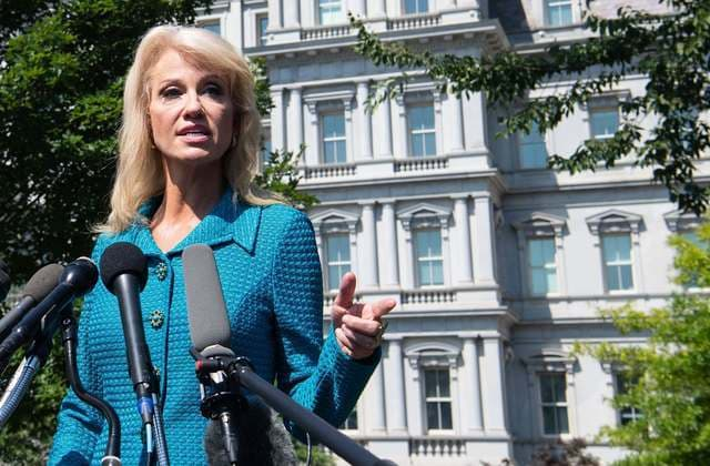 Conway defends Trump by asking reporter's ethnicity