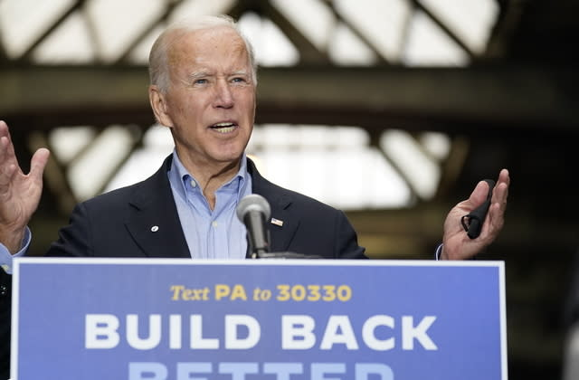 Dozens of GOP ex-national security officials join Biden