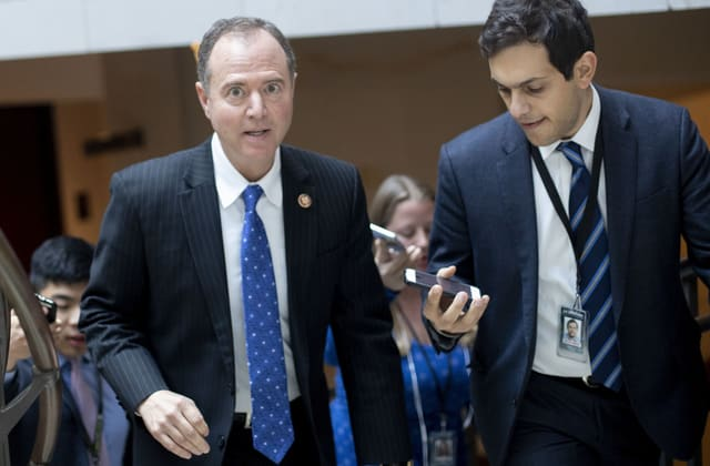 Republicans push for a House vote to penalize Schiff