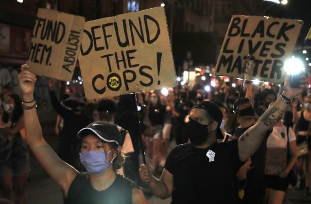 Police departments aren't coming close to being 'defunded'
