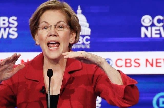 Warren unloads on Bloomberg during Democratic debate