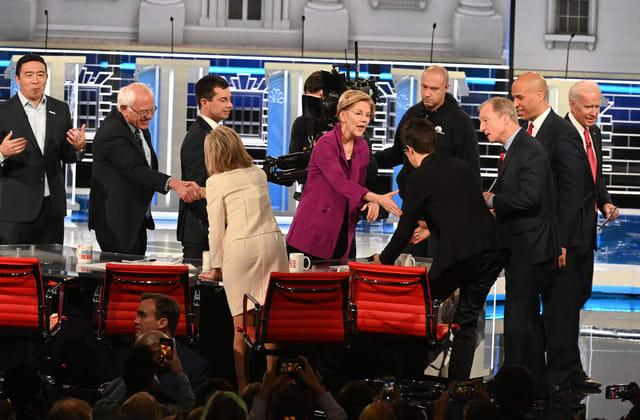 Who won the Democratic debate in Atlanta?