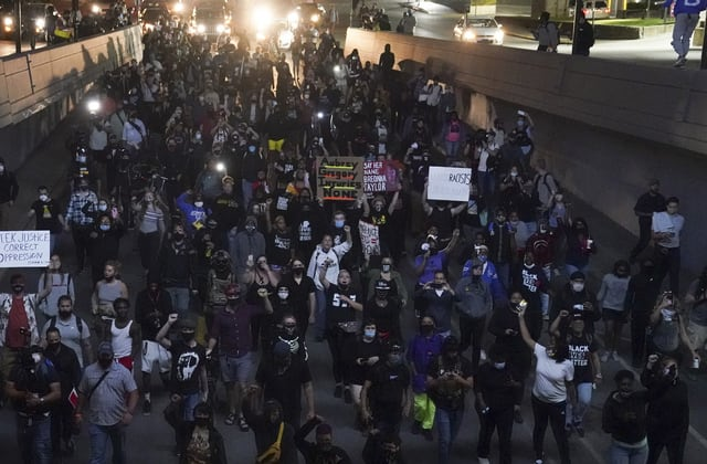 New protests erupt overnight for Breonna Taylor