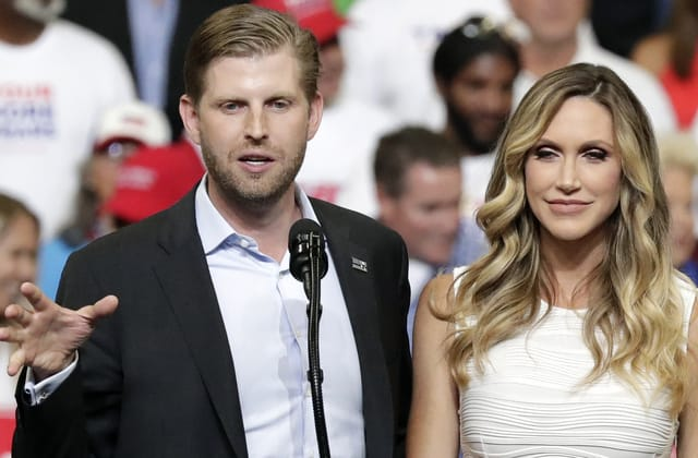 Lounge employee allegedly spit on Eric Trump