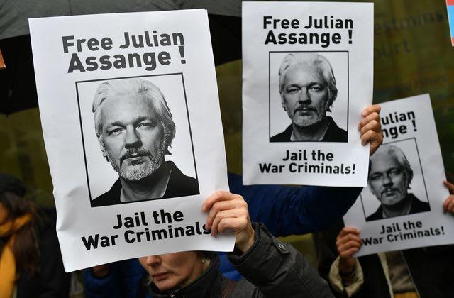 Wikileaks-Gründer vor Gericht