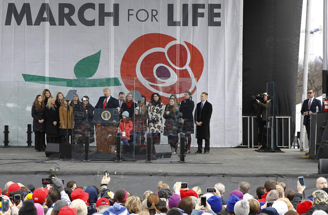 President Trump's historic moment at March for Life
